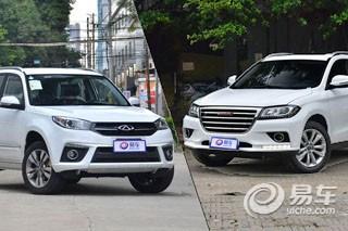 自主小型SUV理性选择 瑞虎3对比哈弗H2