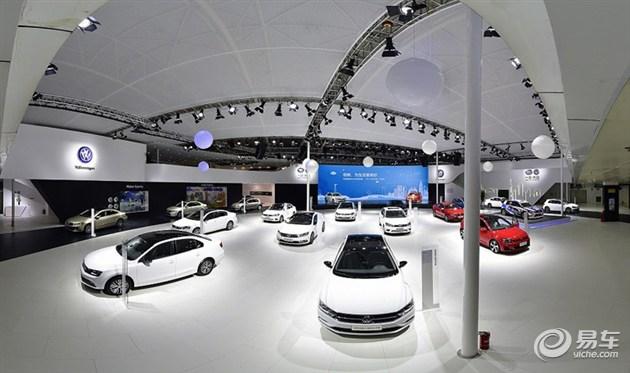 倾情演绎 一汽-大众全系车型亮相长春车展