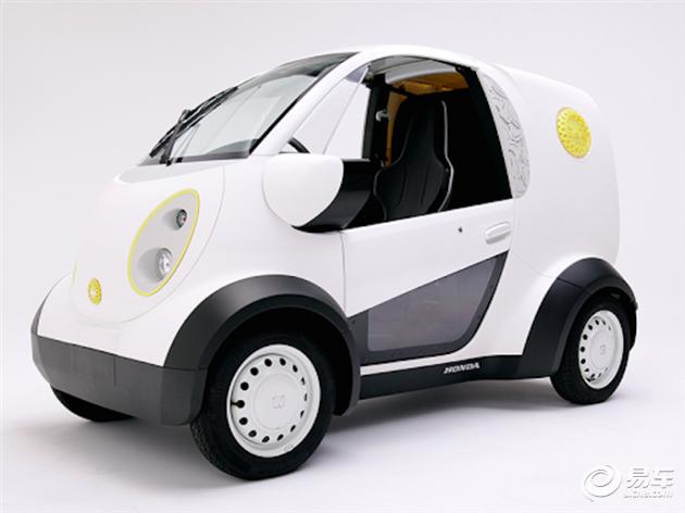 本田发布3D打印电动车 未来或将量产