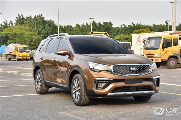 起亚KX7实车曝光 将于广州车展首发亮相