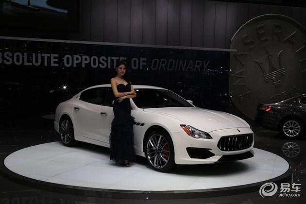 玛莎拉蒂总裁Gransport 广州车展亮相
