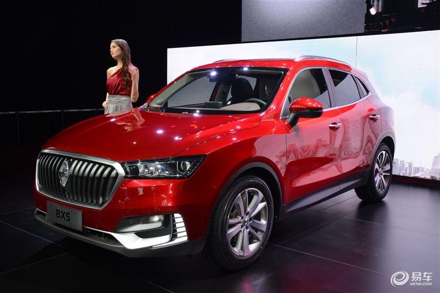 宝沃BX5量产版亮相广州车展 2017年初上市
