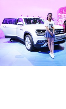 上汽大众Teramont首发 定位中大型SUV