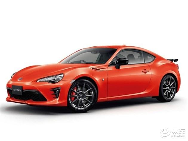 丰田86太阳橙版官图 将于明年三月首发