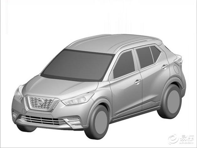 日产Kicks专利图曝光 定位小型SUV/或引入