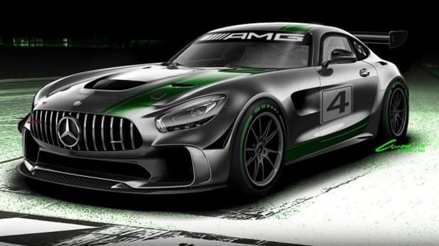 奔驰全新GT4赛车亮相 基于AMG-GT R打造