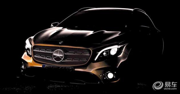 2017款奔驰GLA将于北美车展首发/4月上市