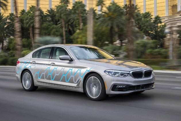 宝马推新5系自动驾驶原型车 整合多项技术