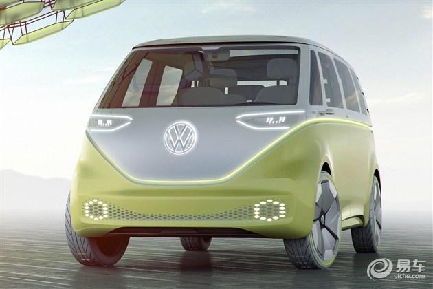 大众I.D.Buzz概念车发布 定位MPV/或量产
