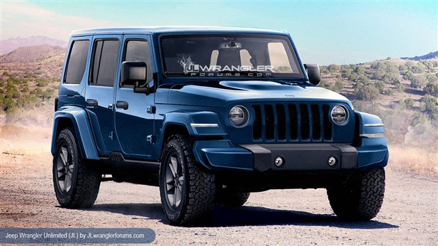 Jeep新一代牧马人或11月亮相 2019年开售