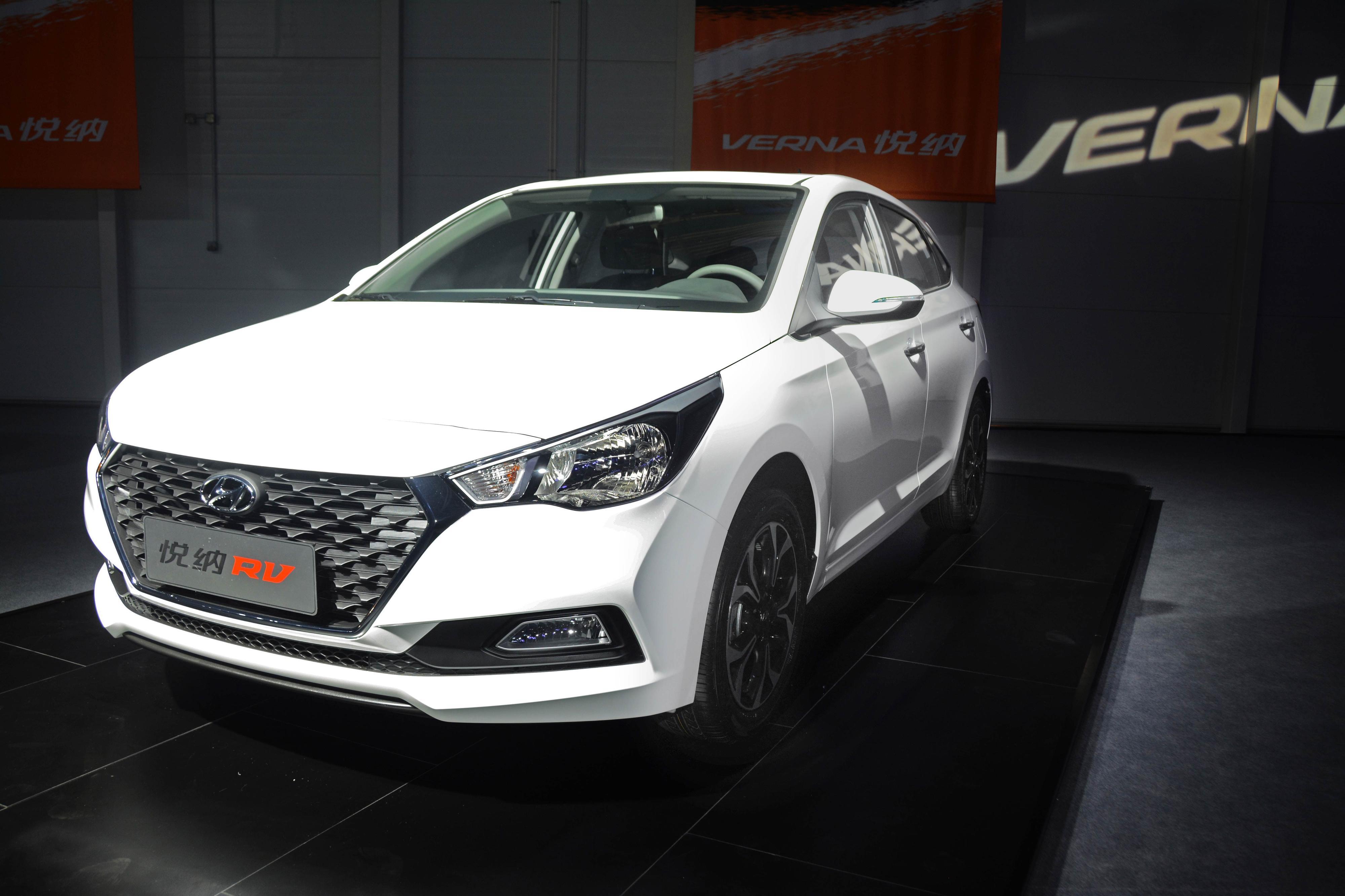 北京现代悦纳RV将于2月上市 先期推5款车