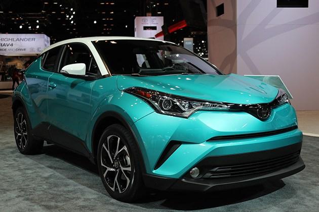 2018款丰田C-HR亮相芝加哥 采用双色搭配