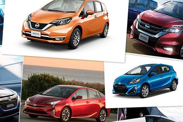 2016日本车市销量榜 小型/混动是王道