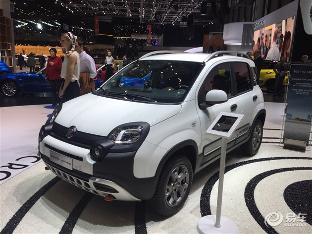 2017日内瓦车展:菲亚特Panda Cross正式发布