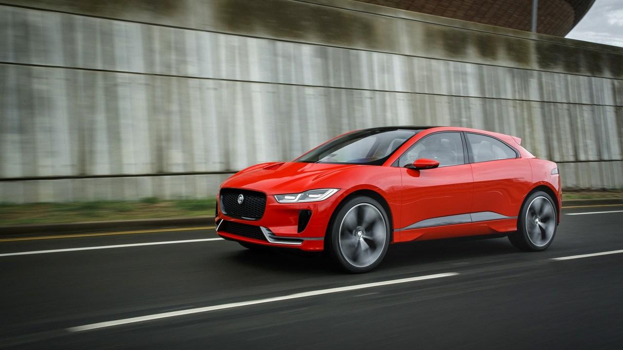 捷豹的Model X 纯电动SUV I-Pace预计年底发布