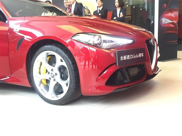 直击阿尔法·罗密欧全新进口Giulia豪华轿车宁波预赏会