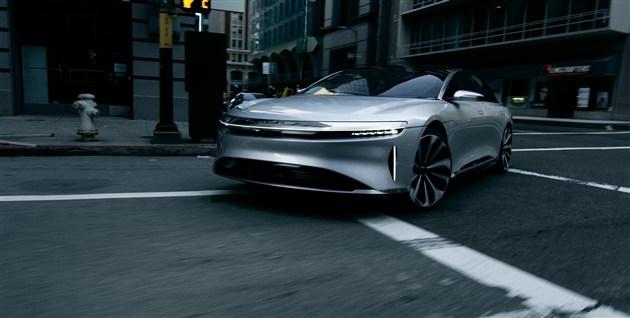 Lucid Motors推出首款电动汽车 挑战特斯拉