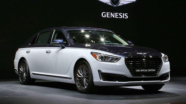 Genesis G90特别版豪华车发布 形似迈巴赫