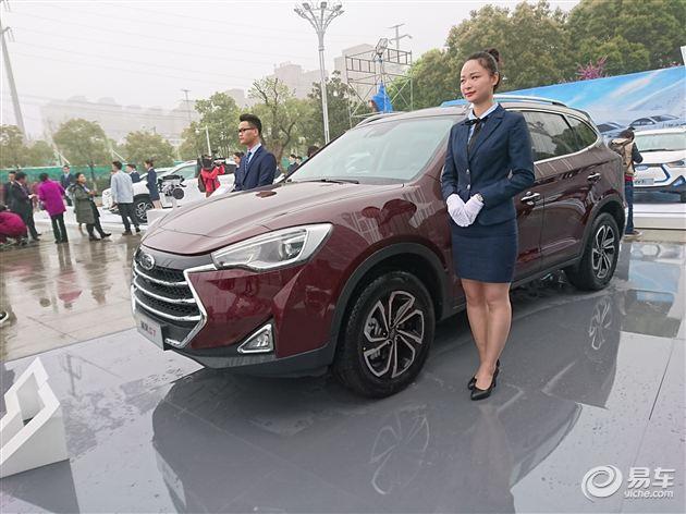 江淮中型SUV瑞风S7正式亮相 2.0T引擎/混动版本/上海车展预售
