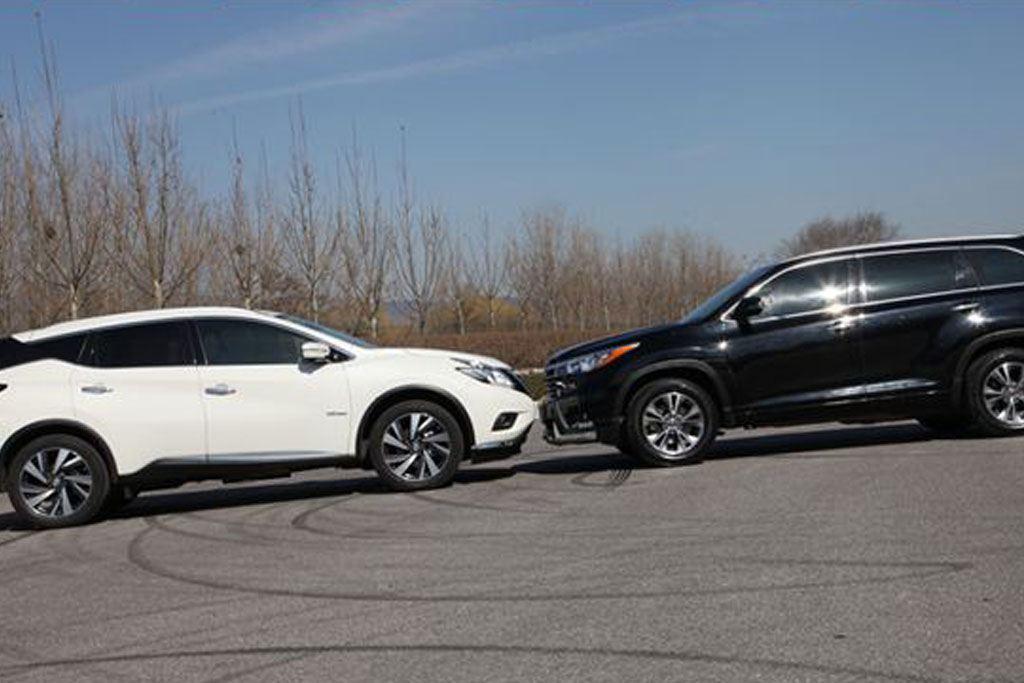 30万元SUV的选择 日产楼兰对比丰田汉兰达