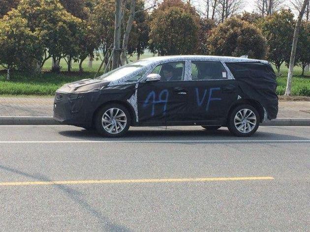 吉利首款MPV或亮相上海车展 预计年内上市