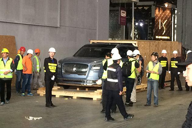2017上海车展探馆:林肯领航员概念车国内首发