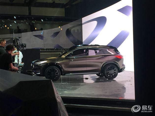 2017上海车展探馆:英菲尼迪QX50概念车