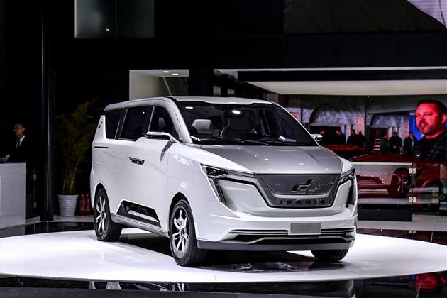 艾康尼克纯电动MPV概念车ICONIQ SEVEN上海车展首发亮相