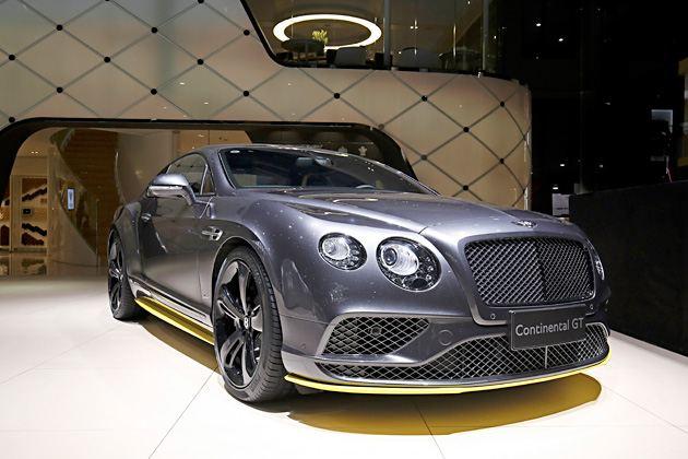 宾利欧陆GT极速版全球首发 专为中国市场打造限量一台