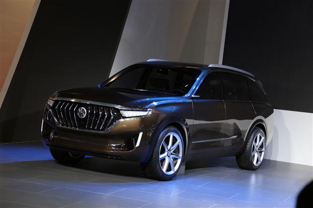 正道两款电驱动概念车K550、K750上海车展全球首发