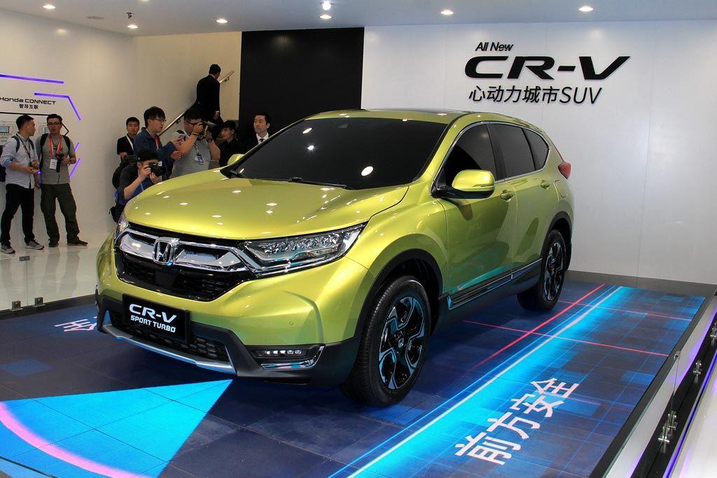 图解本田全新CR-V 1.5T动力/自适应巡航上身