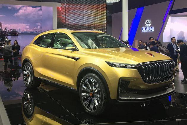 红旗全新概念SUV——U-concept发布