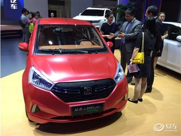 上海车展众泰云100plus正式亮相 配大尺寸中控屏