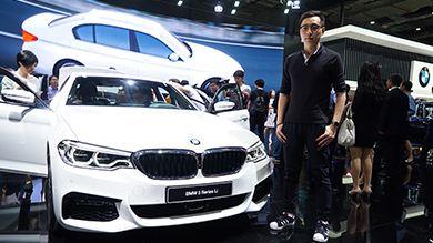 上海车展寅子赋诗宝马5系长轴 年中将上市