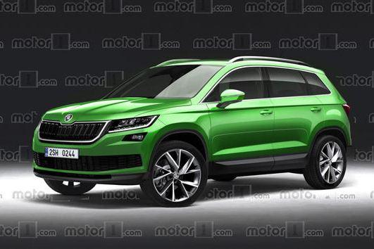 斯柯达全新紧凑SUV将5月18日首发 或定名Karoq