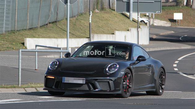 新款保时捷911 GT3谍照曝光 没有配备尾翼