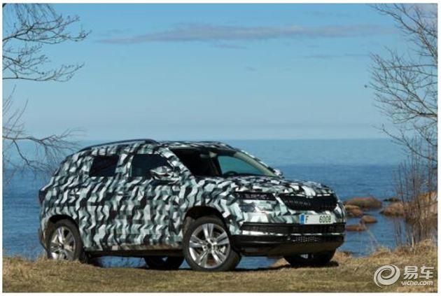 斯柯达全新SUV KAROQ 定位高于YETI