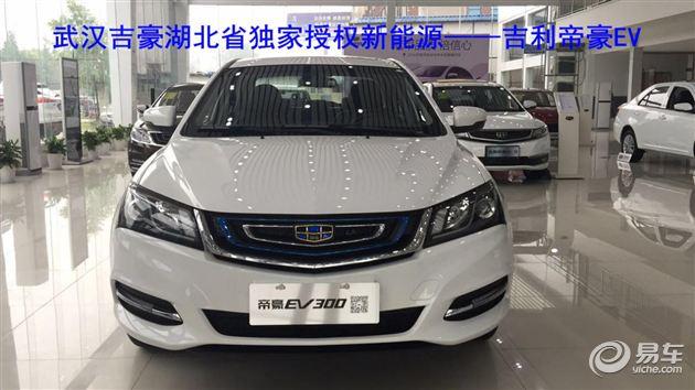 汉吉豪独家授权吉利帝豪EV300将会成为新能源汽车首选-帝豪EV300高清图片