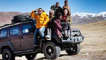 女骑士自驾6000公里进藏区