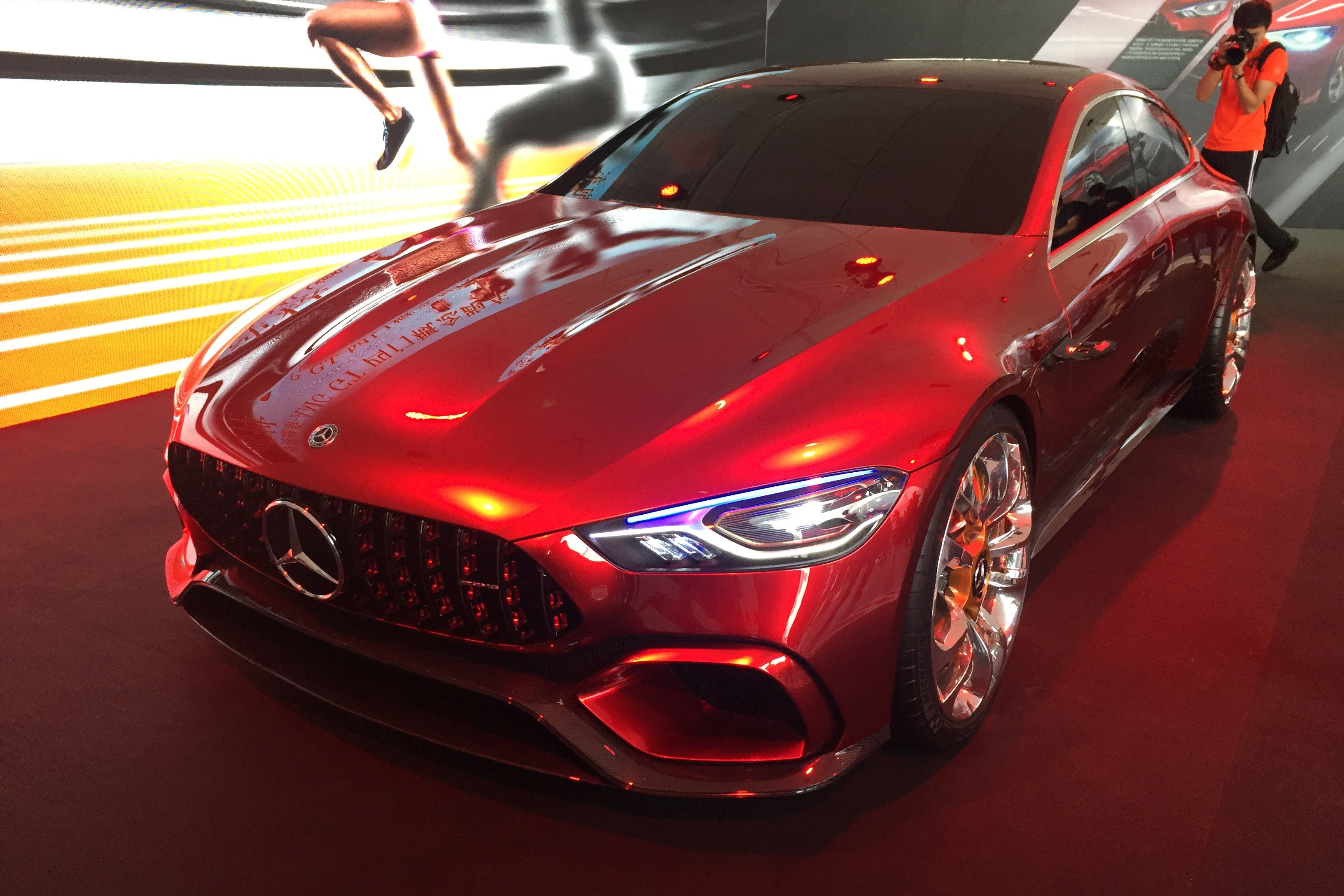 奔驰AMG GT概念亮相中国 3秒内破百/混合动力驱动