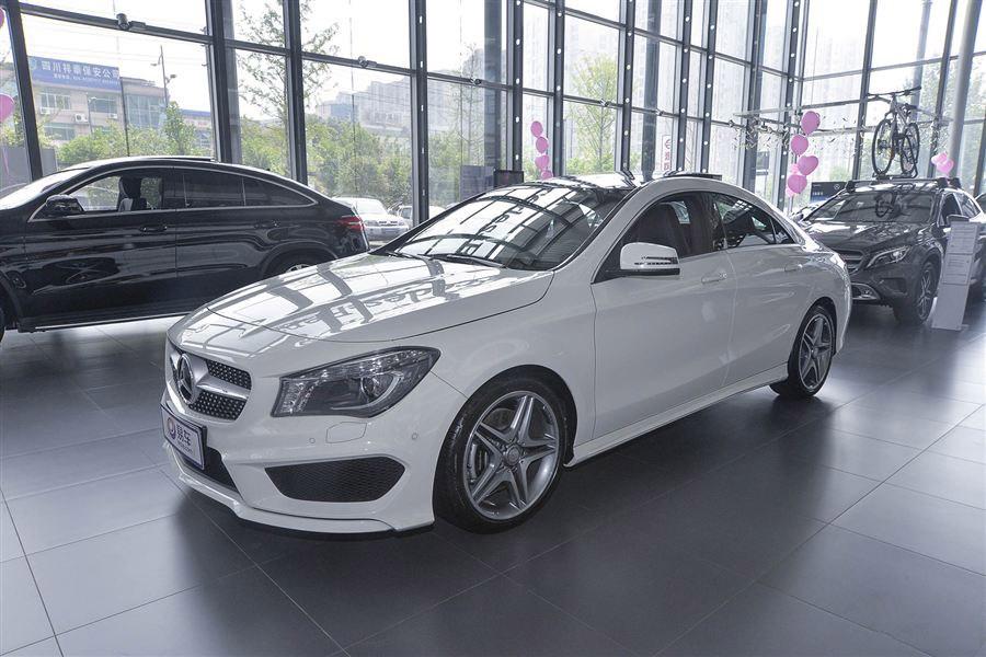 新款奔驰CLA正式上市 售价24.9-37.9万元