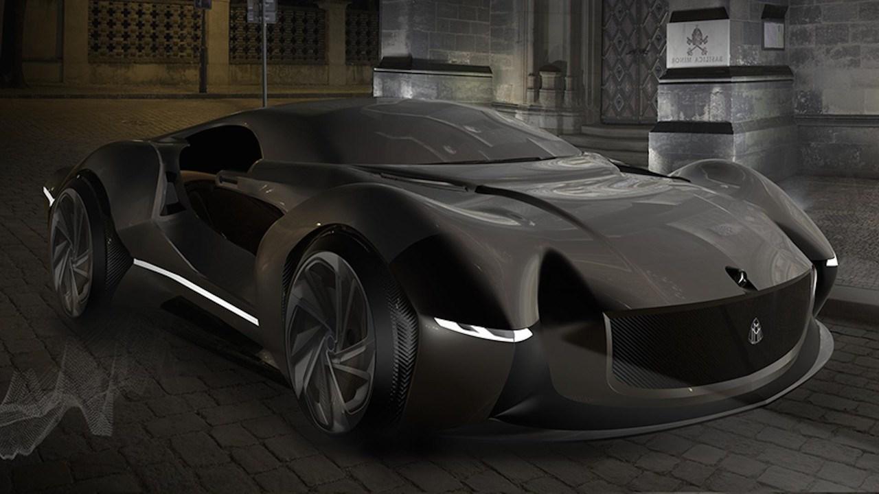 迈巴赫ECHO概念车渲染图曝光 科技感爆棚
