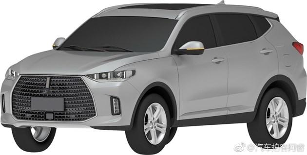 WEY全新车型专利图曝光 细节变动/或推7座版