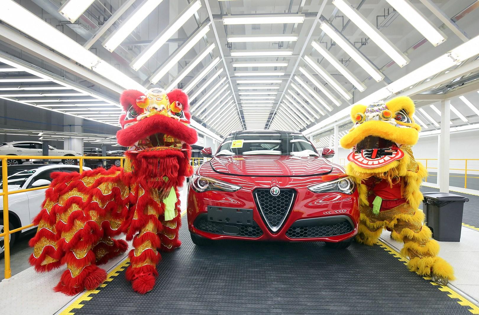 阿尔法?罗密欧中国PDI车辆检测中心全新升级开业啦