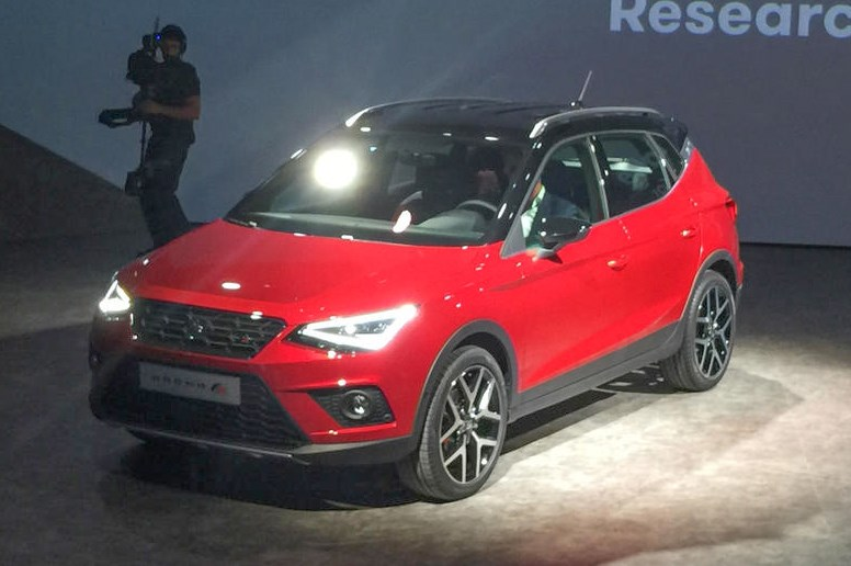 西雅特发布全新小型SUV车型Arona 貌似小号Ateca