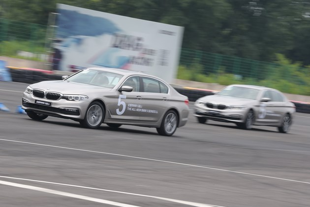 运动豪华商务座驾 全新BMW 5系Li上海试驾体验之旅
