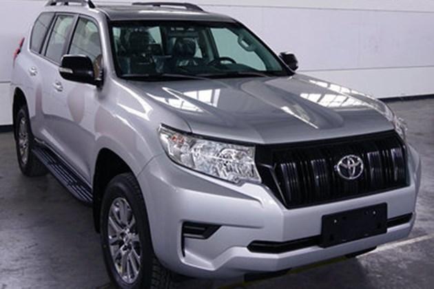 国产新款丰田普拉多申报图 依旧搭载3.5L发动机
