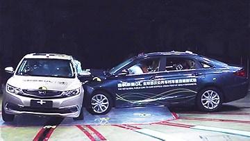 吉利帝豪GL C-NCAP碰撞测试