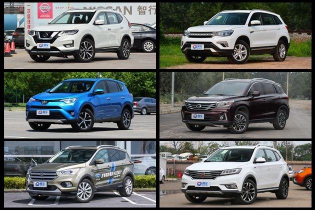 买车摞着数 自主合资一起来 广州热销紧凑型SUV优惠行情