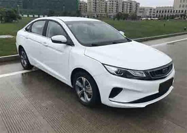 吉利新款帝豪GL申报图曝光 换装全新1.4T发动机